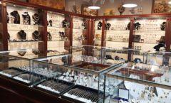 Торговое оборудование для ювелирного магазина Сувенир Парк Москва КОРИЧНЕВАЯ КЛАССИКА Фото 24