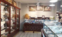 Торговое оборудование для ювелирного магазина Сувенир Парк Москва КОРИЧНЕВАЯ КЛАССИКА Фото 28