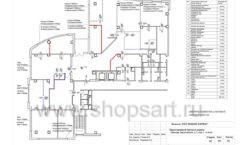 Дизайн проект офиса компании Widex Лист 06
