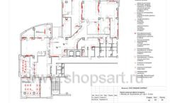 Дизайн проект офиса компании Widex Лист 09