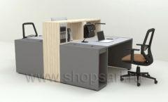 Стол для менеджеров Дуэт 2 коллекция мебели для офисов ПАРТНЕР