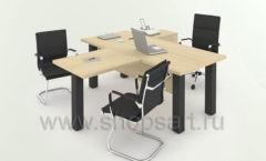 Переговорный стол Трио коллекция мебели для офисов ПАРТНЕР