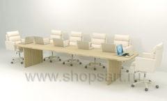 Стол для конференций Дипломат коллекция мебели для офисов ПАРТНЕР