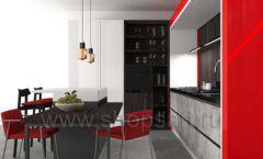 Кухня для офиса КРАСНАЯ ЛИНИЯ Вид 6