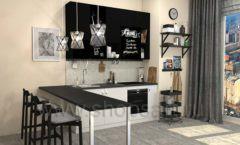 Кухня для офиса ЛОФТ Вид 3