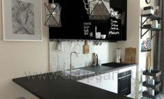 Кухня для офиса ЛОФТ Вид 5