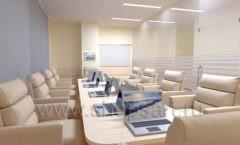 Мебель для переговорной конференц зала Вид 02