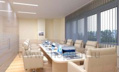 Мебель для переговорной конференц зала Вид 03