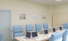 Мебель для переговорной конференц зала Вид 04