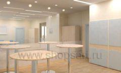 Мебель для переговорной конференц зала Вид 10