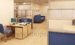 Мебель для офиса БЦ Аргуновский Вид 03