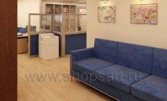 Мебель для офиса БЦ Аргуновский Вид 04