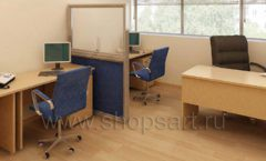 Мебель для офиса БЦ Аргуновский Вид 06
