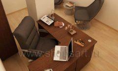 Мебель для офиса БЦ Аргуновский Вид 12