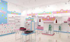 Дизайн интерьера детского магазина торговое оборудование ПРИНЦЕСС Дизайн 01