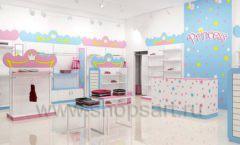 Дизайн интерьера детского магазина торговое оборудование ПРИНЦЕСС Дизайн 03