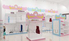 Дизайн интерьера детского магазина торговое оборудование ПРИНЦЕСС Дизайн 04