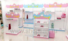 Дизайн интерьера детского магазина торговое оборудование ПРИНЦЕСС Дизайн 05