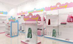 Дизайн интерьера детского магазина торговое оборудование ПРИНЦЕСС Дизайн 06