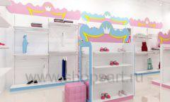 Дизайн интерьера детского магазина торговое оборудование ПРИНЦЕСС Дизайн 12