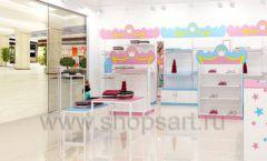 Дизайн интерьера детского магазина торговое оборудование ПРИНЦЕСС Дизайн 13