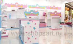 Дизайн интерьера детского магазина торговое оборудование ПРИНЦЕСС Дизайн 17