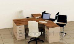 Офисный стол Специалист коллекция мебели для офисов ПРЕМЬЕР