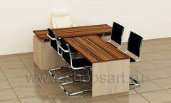 Стол для руководителя Дилер коллекция мебели для офисов ПРЕМЬЕР