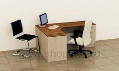 Стол для сотрудников Аккорд 2 коллекция мебели для офисов ПРЕМЬЕР