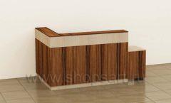 Стойка ресепшн Классик 1 коллекция мебели для офисов ПРЕМЬЕР