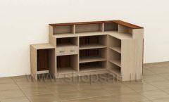 Стойка администратора Классик 2 коллекция мебели для офисов ПРЕМЬЕР
