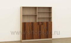 Стеллаж офисный для документов коллекция мебели для офисов ПРЕМЬЕР