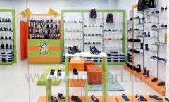 Торговое оборудование детского магазина Степ ТЦ Улей Москва коллекция КАРАМЕЛЬ Фото 06