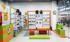 Торговое оборудование детского магазина Степ ТЦ Улей Москва коллекция КАРАМЕЛЬ Фото 14