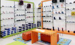 Торговое оборудование детского магазина Степ ТЦ Улей Москва коллекция КАРАМЕЛЬ Фото 15
