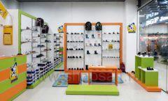 Торговое оборудование детского магазина Степ ТЦ Улей Москва коллекция КАРАМЕЛЬ Фото 16