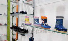 Торговое оборудование детского магазина Степ ТЦ Улей Москва коллекция КАРАМЕЛЬ Фото 17