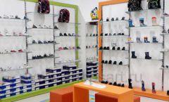 Торговое оборудование детского магазина Степ ТЦ Улей Москва коллекция КАРАМЕЛЬ Фото 18