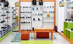 Торговое оборудование детского магазина Степ ТЦ Улей Москва коллекция КАРАМЕЛЬ Фото 19