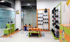 Торговое оборудование детского магазина Степ ТЦ Улей Москва коллекция КАРАМЕЛЬ Фото 20