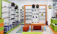 Торговое оборудование детского магазина Степ ТЦ Улей Москва коллекция КАРАМЕЛЬ Фото 21