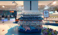 Торговое оборудование 3 детского сувенирного магазина Москвариум ВДНХ ЦВЕТНЫЕ МЕТАЛЛИЧЕСКИЕ СТЕЛЛАЖИ Фото 10