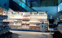 Торговое оборудование 3 детского сувенирного магазина Москвариум ВДНХ ЦВЕТНЫЕ МЕТАЛЛИЧЕСКИЕ СТЕЛЛАЖИ Фото 19