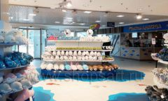 Торговое оборудование 3 детского сувенирного магазина Москвариум ВДНХ ЦВЕТНЫЕ МЕТАЛЛИЧЕСКИЕ СТЕЛЛАЖИ Фото 22
