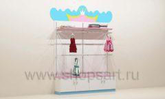 Мебель для детского магазина торговый стеллаж торговое оборудование ПРИНЦЕСС