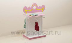 Мебель для детского магазина торговая стойка двусторонняя торговое оборудование ПРИНЦЕСС