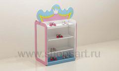 Мебель для детского магазина торговый остров с полками торговое оборудование ПРИНЦЕСС