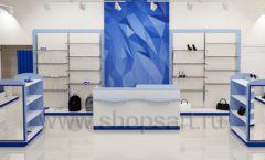 Дизайн интерьера магазина одежды торговое оборудование ГОЛУБАЯ ЛАГУНА Дизайн 02