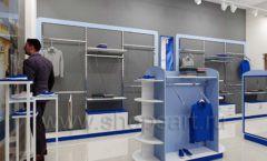 Дизайн интерьера магазина одежды торговое оборудование ГОЛУБАЯ ЛАГУНА Дизайн 04