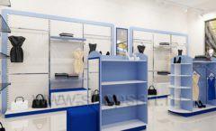 Дизайн интерьера магазина одежды торговое оборудование ГОЛУБАЯ ЛАГУНА Дизайн 05